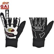 GUANTI BIKE SKELETON W-GEL LONG GLOVES