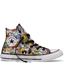 ALL STAR HI CANVAS LOONEY TUNES PERSONAGGI